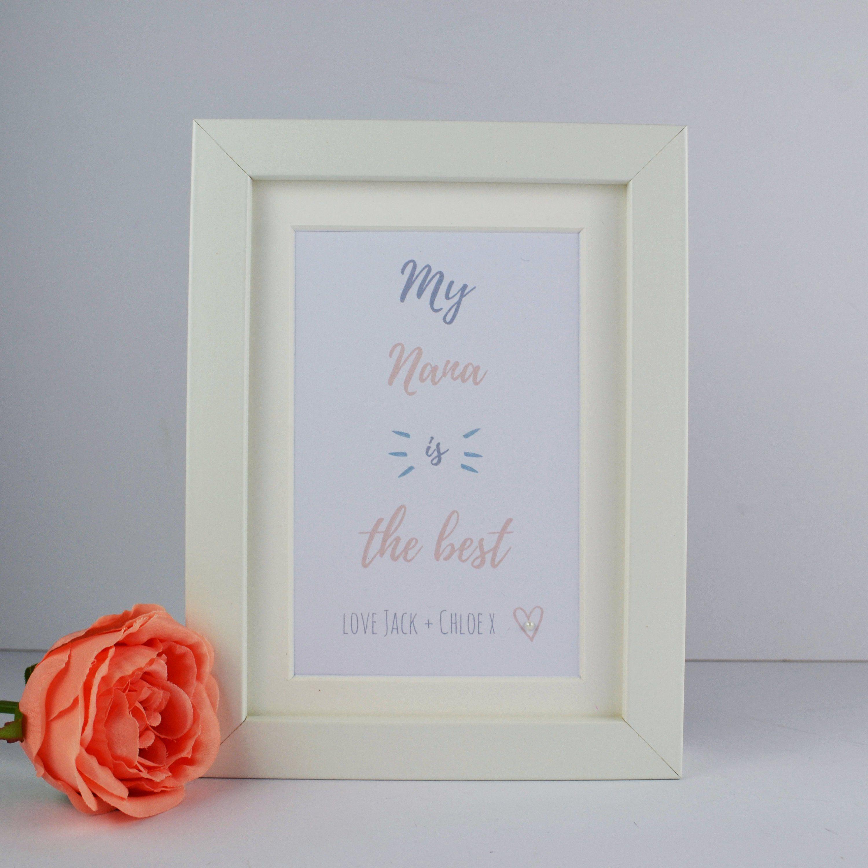 Mothers day gift for nanas grans grannys mini etsy