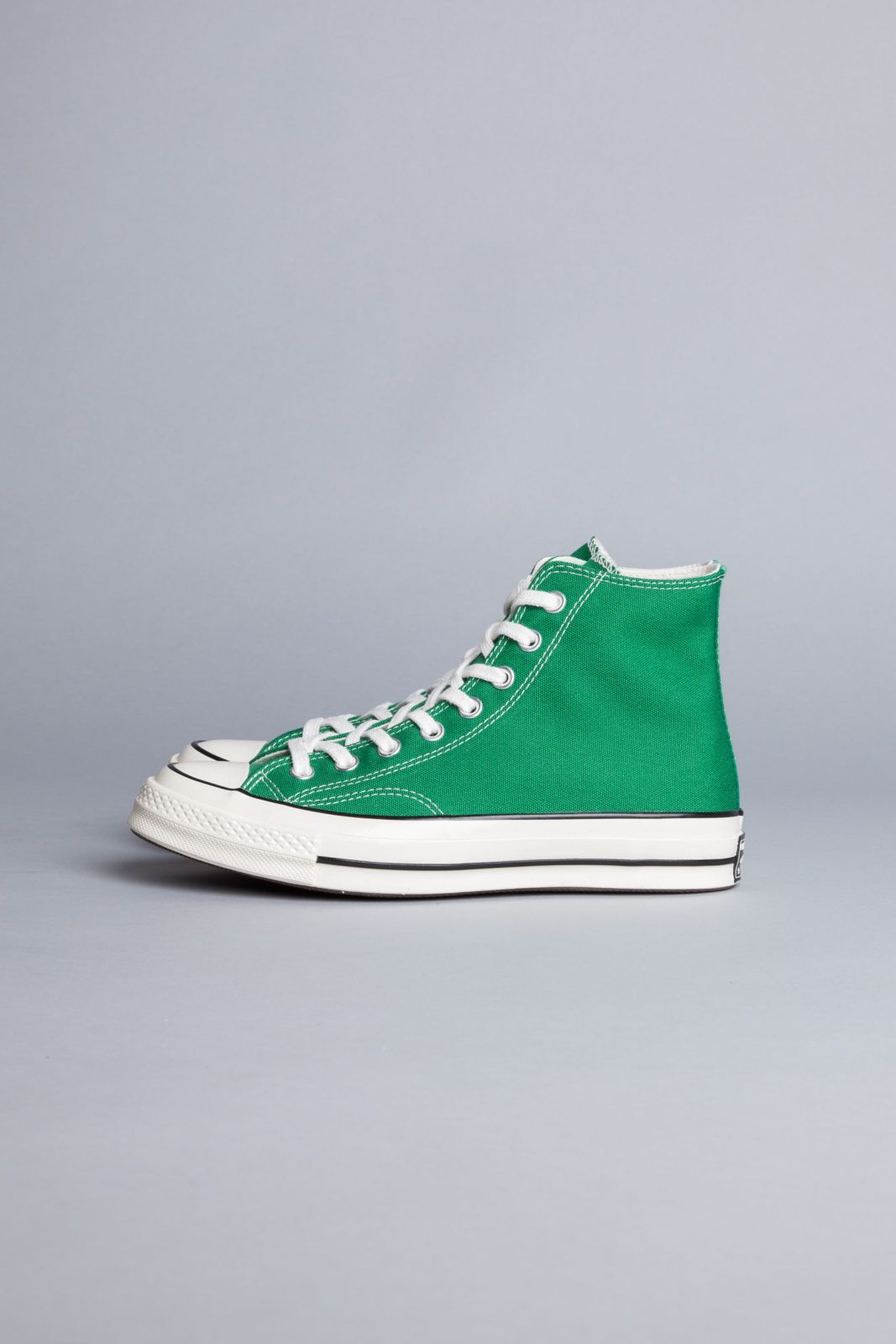 087ba3705b74 Converse Chuck Taylor 70 Green is a re-crafted sneaker that use modern  details to celebrate the original Chuck Taylor from 1970s.