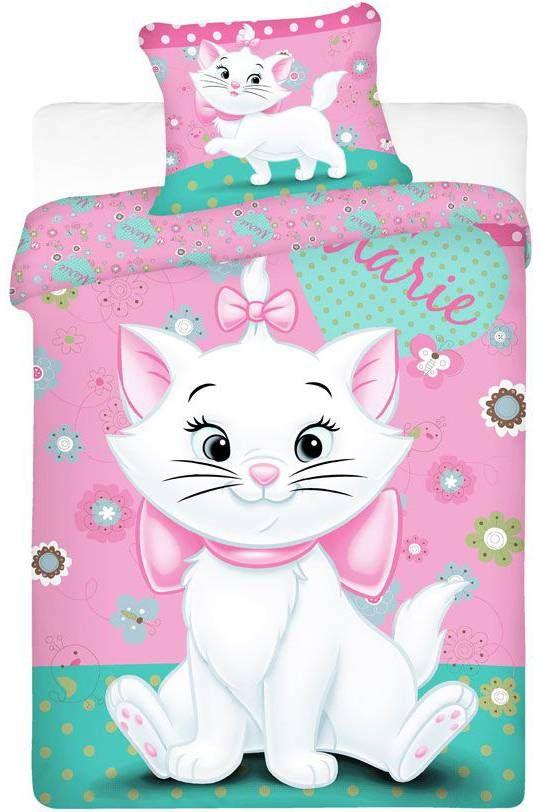 Disney Aristocats Cat Dekbedovertrek Eenpersoons 140 X 200 Cm