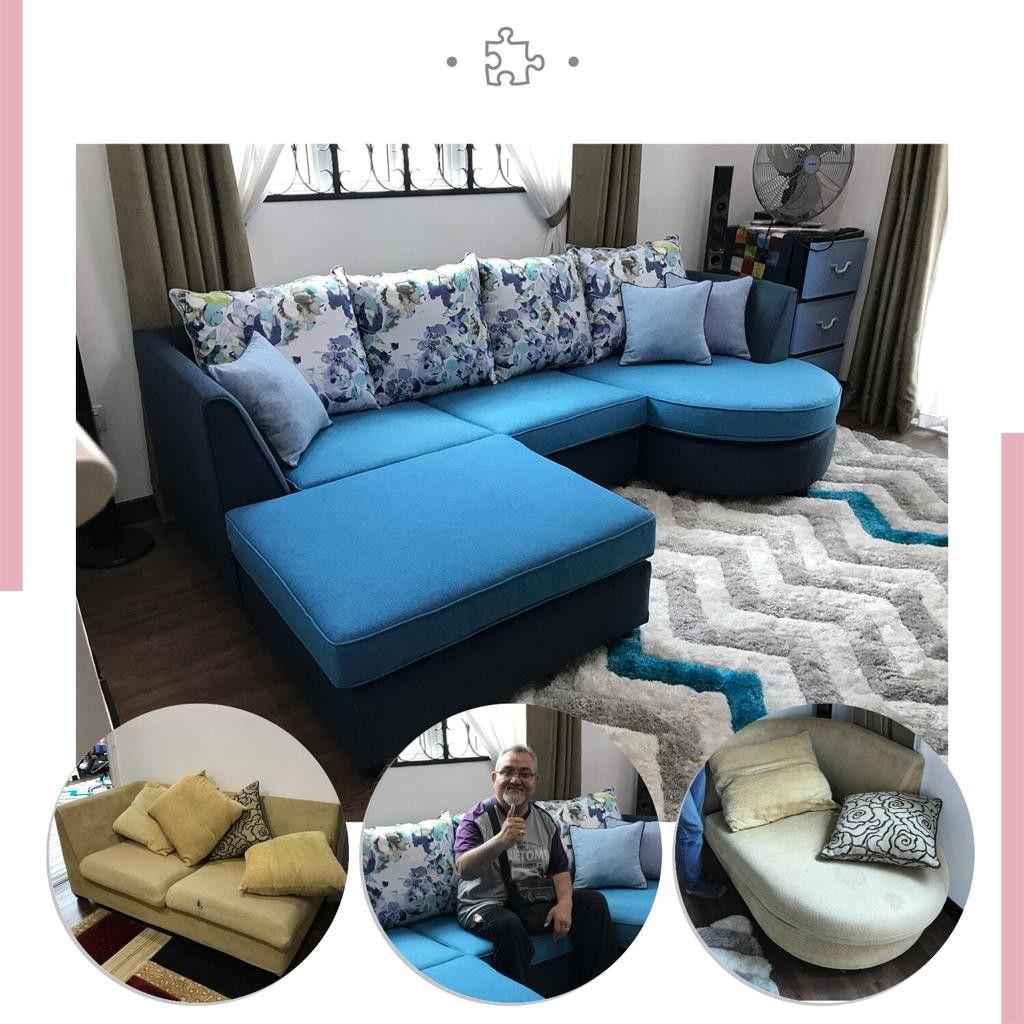 Refurbished For L Shape Sofa Penang Malaysia Meiko Upholstery