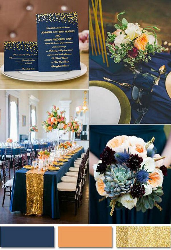 Pin By Lucy Fishbein On Wedding Ideas In 2020 Navy Blue Gold