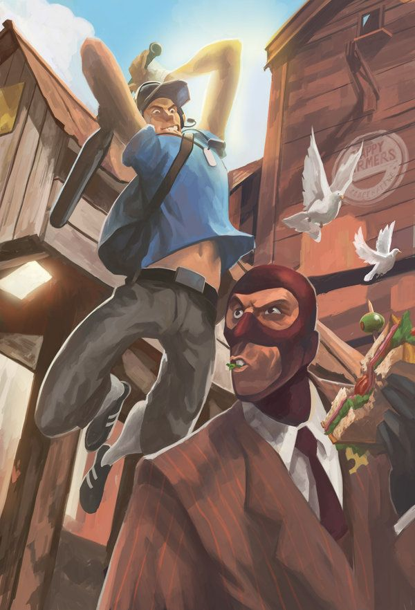 Bonk By Davidhueso On Deviantart Team Fortress 2 Team Fortress Tf2 Scout