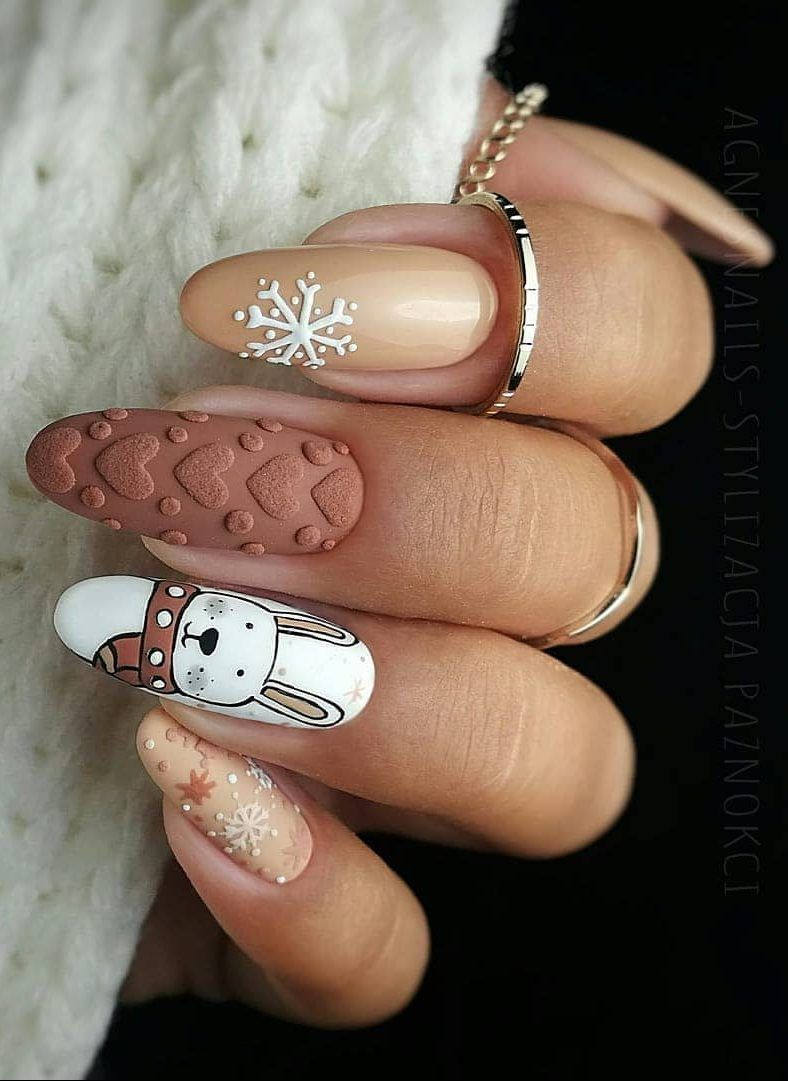 35+ Best And Merry Christmas Nail Art Ideas 2020! – Page 31 of 37 – newyearlights. com