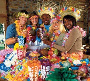 Resultado de imagen para fiesta hawaiana para adultos - Ideas para cumpleanos adulto ...