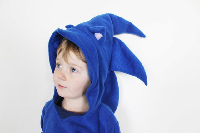 Sew Geeky Episode 1 8 Bit Babies Sonic The Hedgehog Hoodie Sonic Birthday Sonic Birthday Parties Sonic Costume