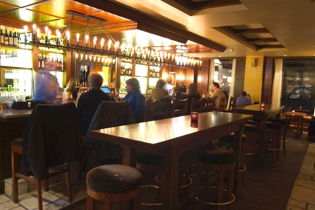 Restaurant Bar Interior Design Of Cesca Enoteca And Trattoria Bar