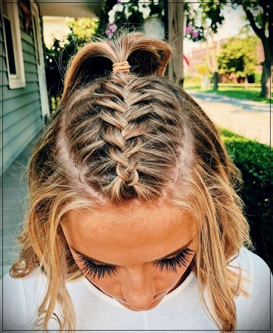 10 Boho Style Braids For Short Hair In 2020 With Images Pinterest Hair Long Hair Styles Hair Styles