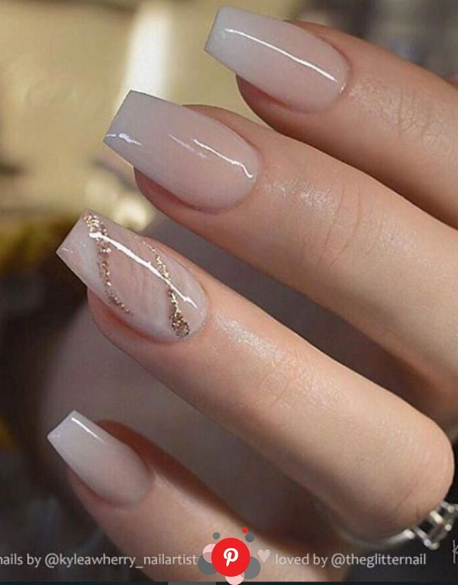 Nail Acrylic Natural Pink Nailsofinstagram Naildesigns Nailsonfleek In 2020 Bridal Nails Coffi In 2020 Coffin Nails Glitter Pretty Acrylic Nails Romantic Nails