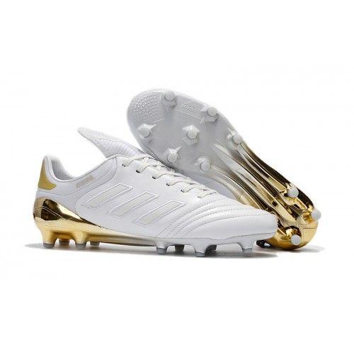 Adidas Copa 17.1 FG Chaussure De Foot Blanc Or pas cher