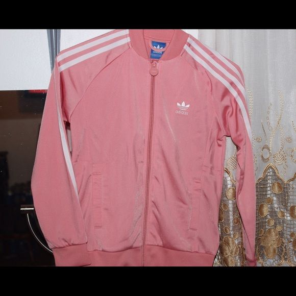Light Pink Adidas jacket | Pink adidas, Adidas and Lights