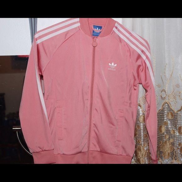 Light Pink Adidas jacket | Adidas pink