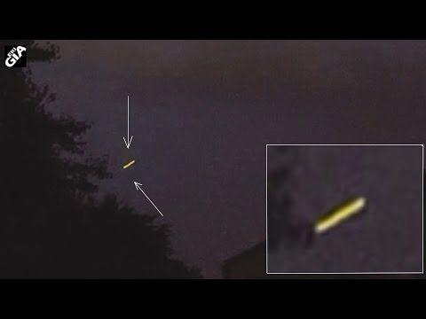 Cigar UFO enters Lighting Cloud, Thunderstorm, Cherry Hill, July 2016 - YouTube