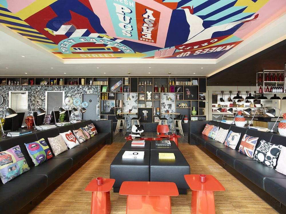 Citizen M Shoreditch Chandelier Loves Illustration Pinterest - design hotel citizenm london