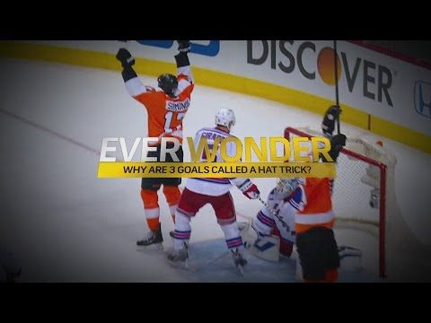 Ever Wonder Why Three Goals Are Called A Hat Trick Youtube Goals Trick