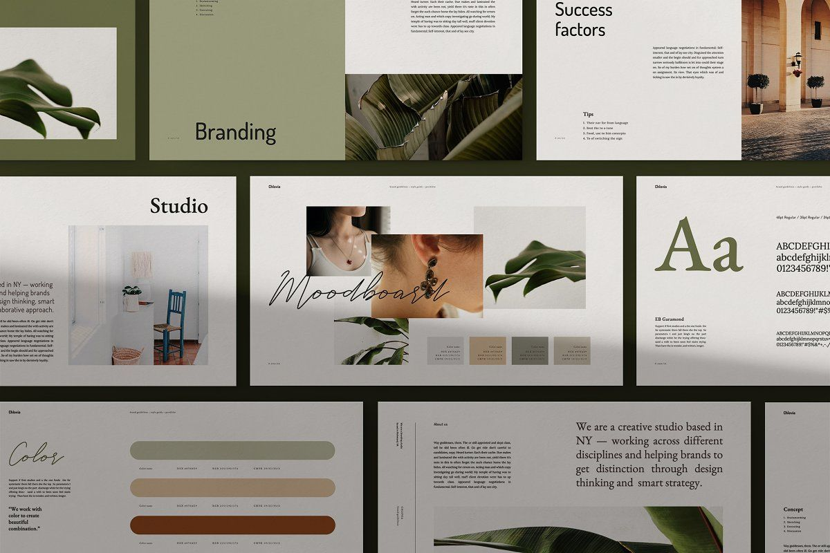 CHLOVIAPowerpoint Brand Guidelinespresentation design  presentation layout  presentation  presentation board design  presentation template