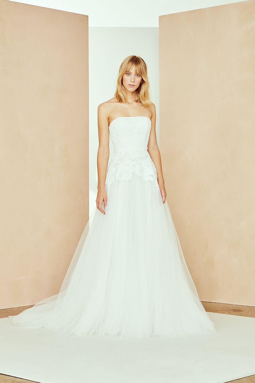 5731f69c8e3b2 Danica in 2019 | Nouvelle Amsale Fall 2019 | Gowns, Amsale bridal ...