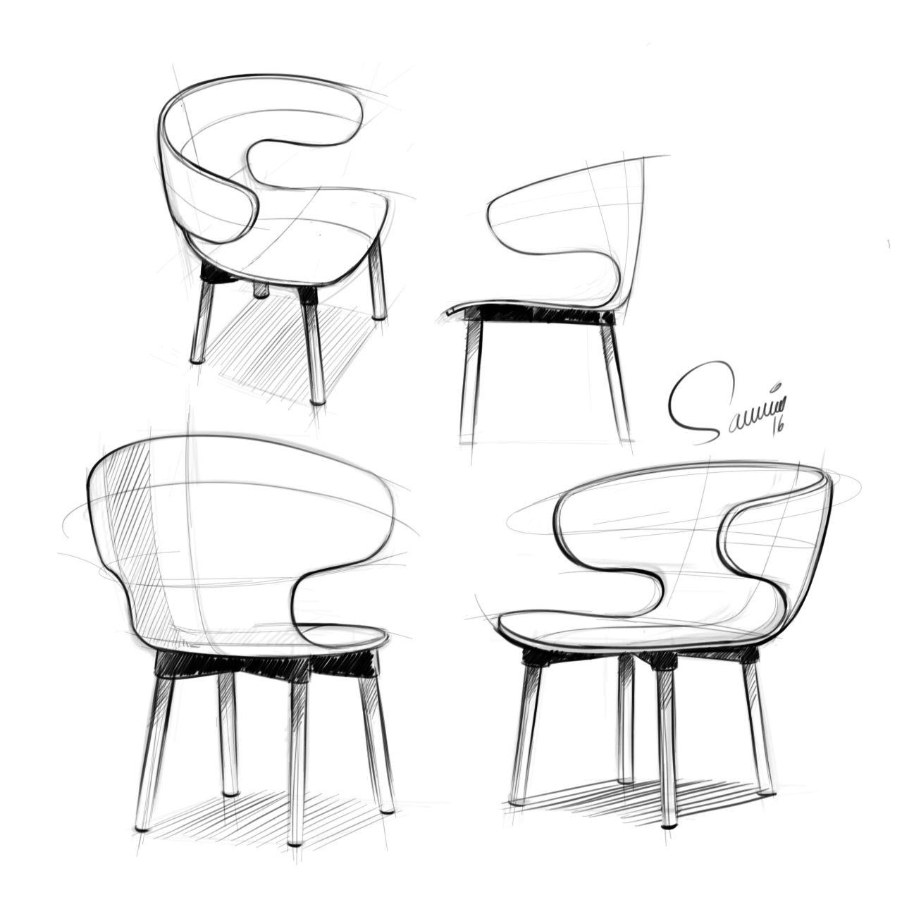 Industrial design sketches furniture - Furniture Design Sketches