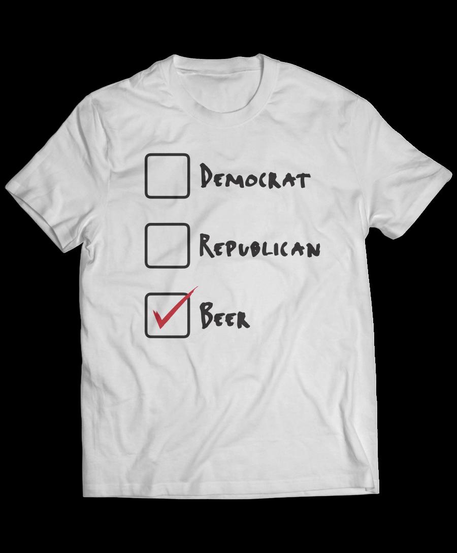 Vote Beer T-Shirt