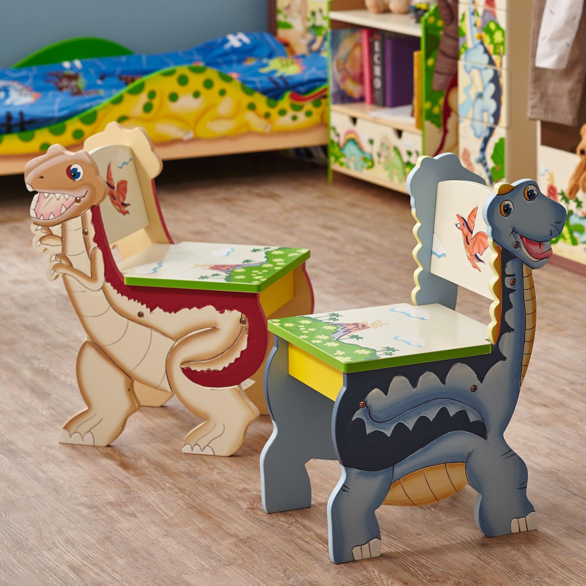 cute childs office chair. Fantasy Fields Dinosaur Kingdom Kids Desk Chair (Set Of 2) Cute Childs Office A