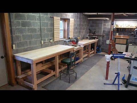 How To Build A Professional Style Workbench Wood Plans