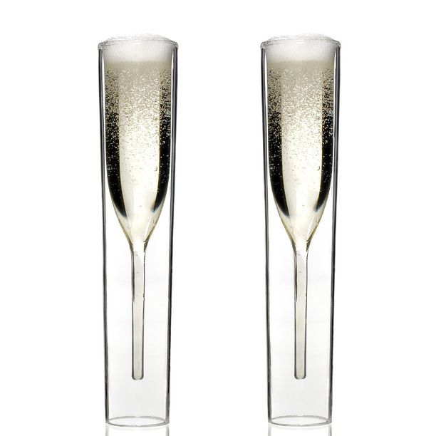 InsideOut Champagne Glass 2Pk design inspiration on Fab.