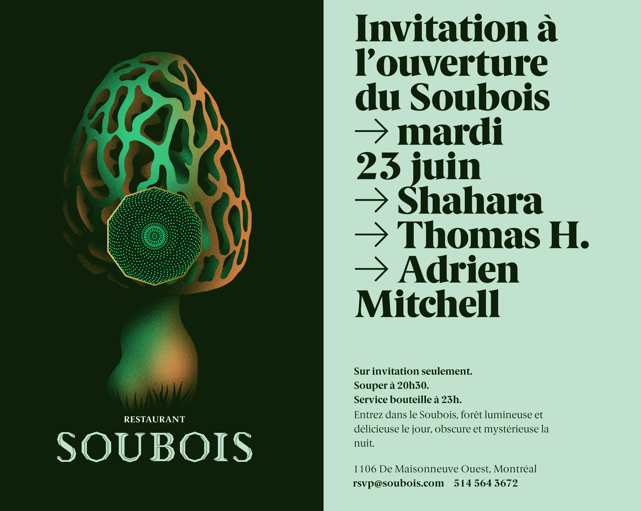 Soubois Is A Bistro Du Terroir Bar And Nightclub Located In An