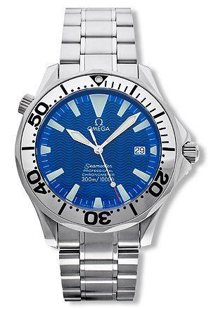 Omega Men's 2255.80.00 Seamaster 300M Chrono Diver Watch ...