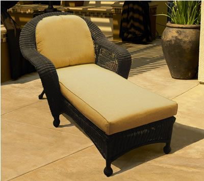 Good Sumter Outdoor Wicker Chaise Lounge $498 + Cost Of Cushions