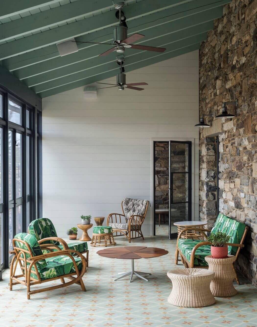 Modern Farm House by Bunsa Studio Eclectic farmhouse Hudson