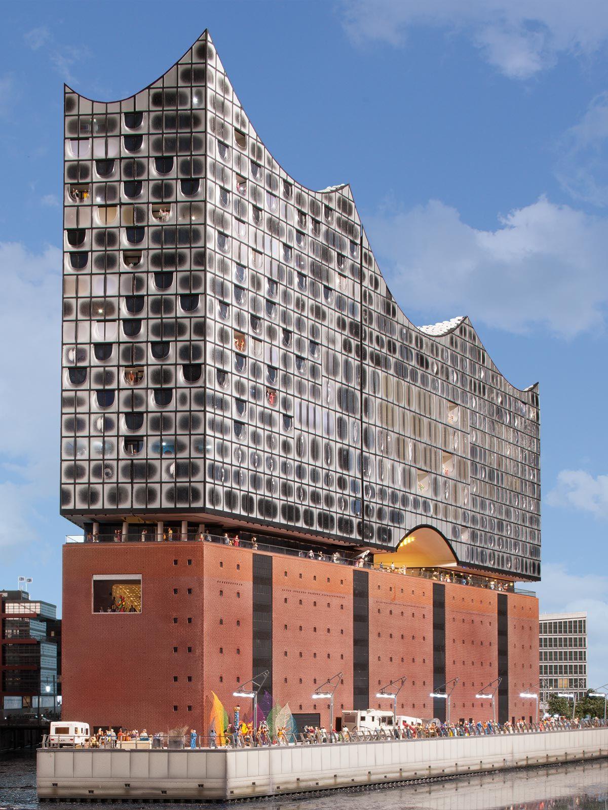 Elbphilharmonie Architecture Model Architecture Building Contemporary Architecture