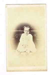 Very Unhappy KID IN Bethlehem Pennsylvania BY P Leidigh Gross Circa 1860'S CDV | eBay