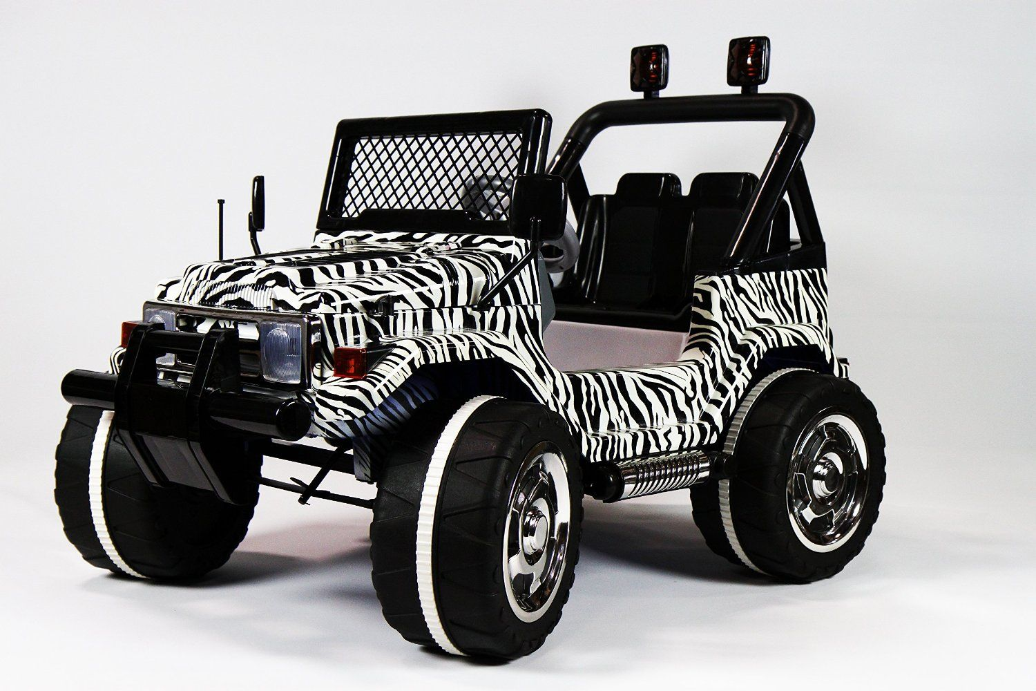 Ride On Car Toy Jeep Wrangler Style 2 Motors 2 Battery Remote