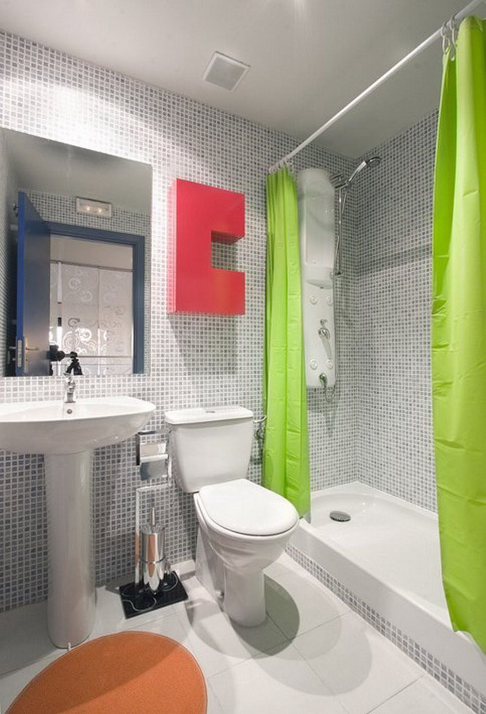 Home Design and Interior Design Gallery of Bathroom Tile Design ...