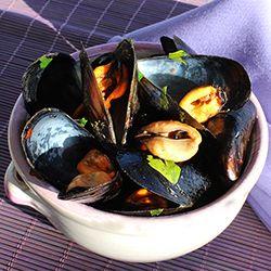 Sauteed Fresh Mussels, the italian way!