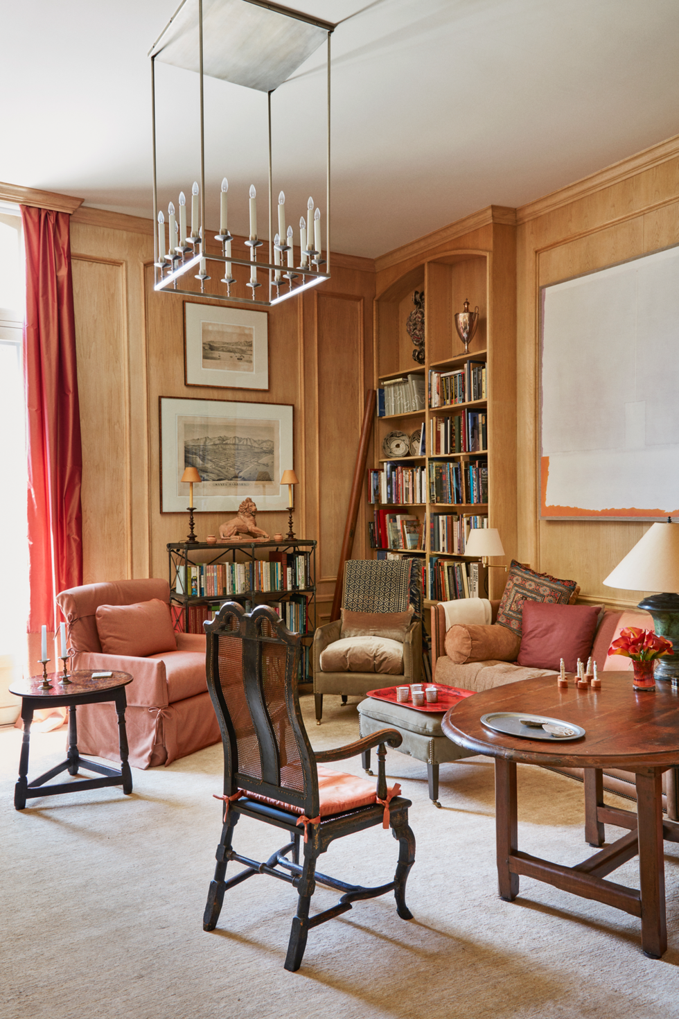 Dining Room Library Ideas: 15 Stylish Home Libraries You'll Want To Cozy Into