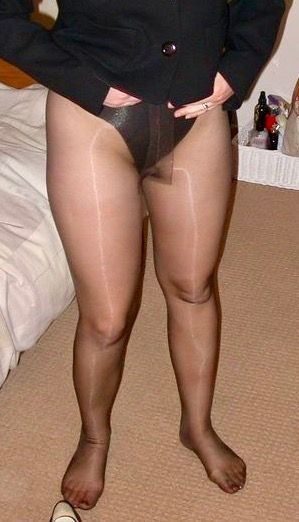Panties under pantyhose pics