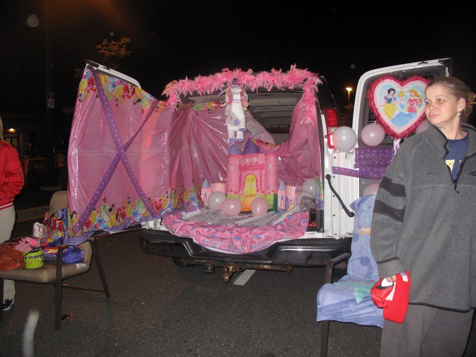 Disney Princess Trunk Or Treat Trunk Or Treat