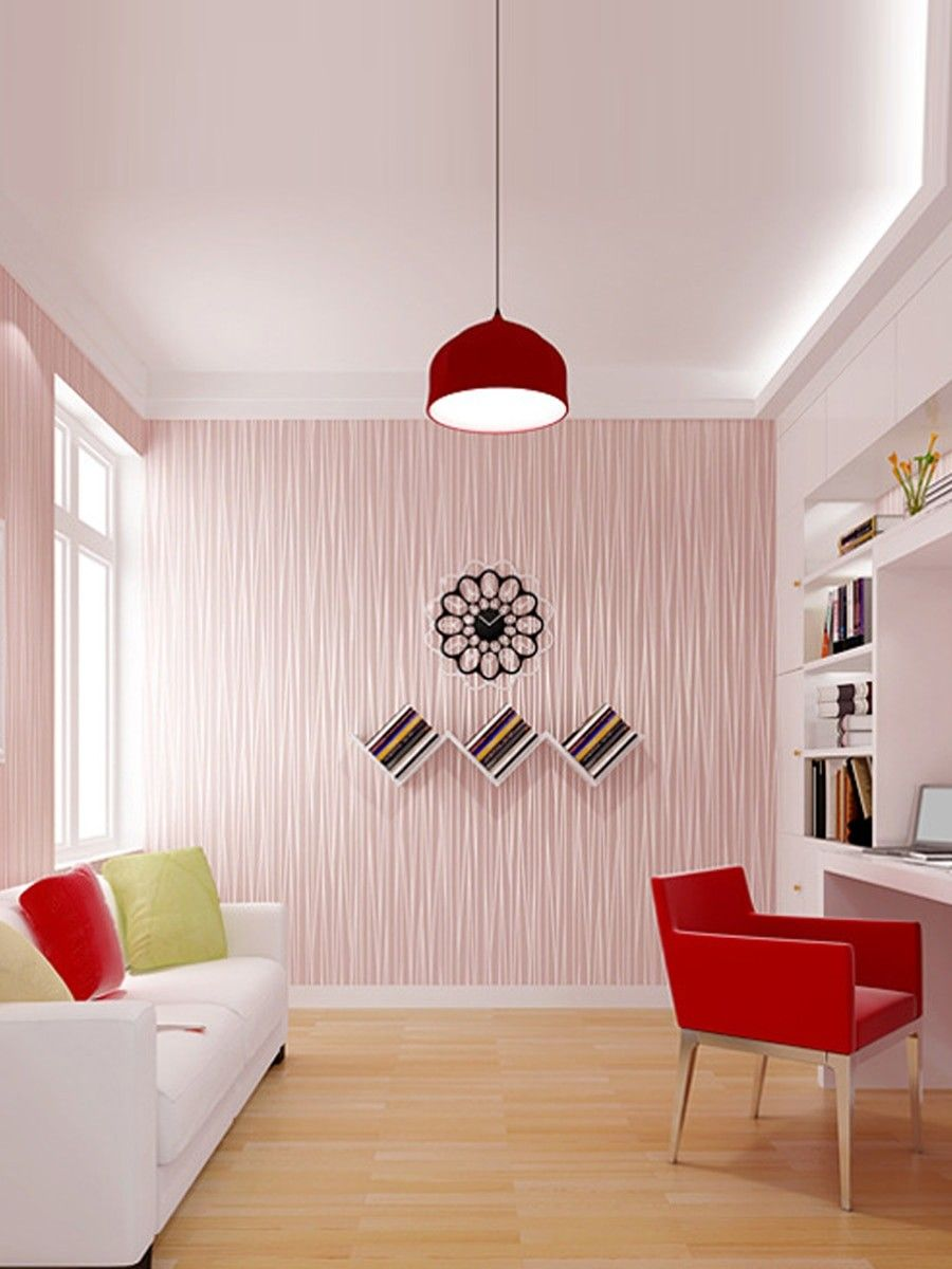 1 Pc Wall Paper Plain Color Self Adhesive Living Room Bedroom Office Decoration Girls Bedroom Wallpaper 3d Wallpaper Living Room Living Decor