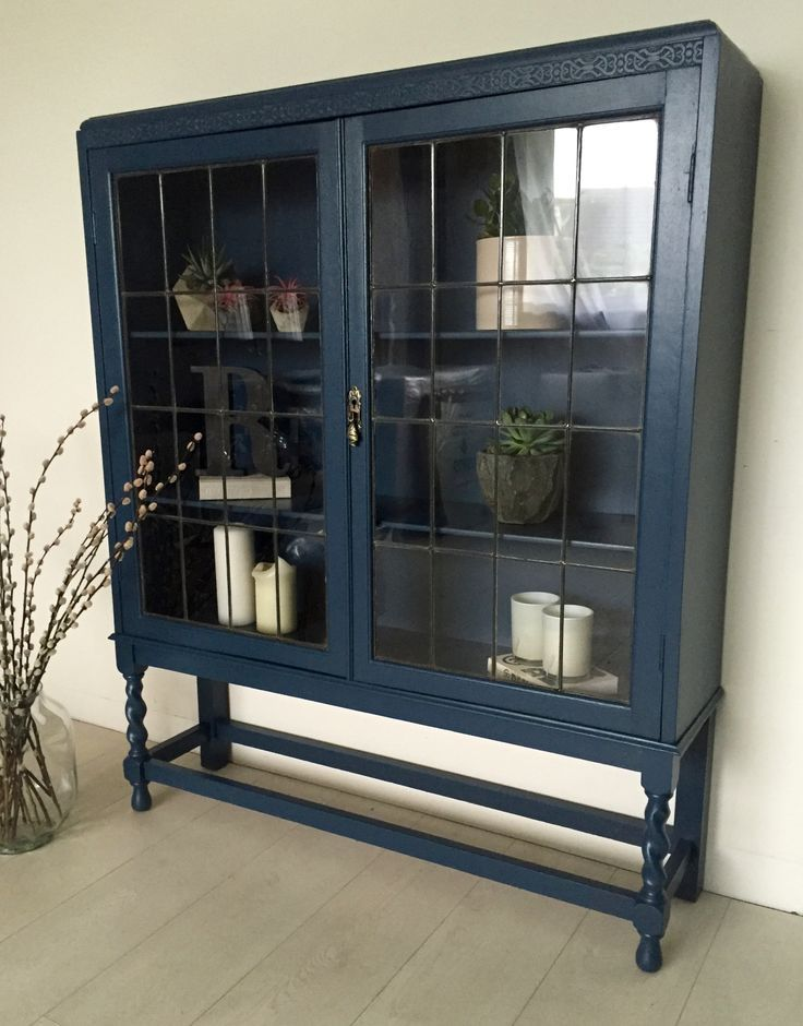 Prime Display Cabinet Farrow And Ball S Key Blue Dining Room Beutiful Home Inspiration Xortanetmahrainfo