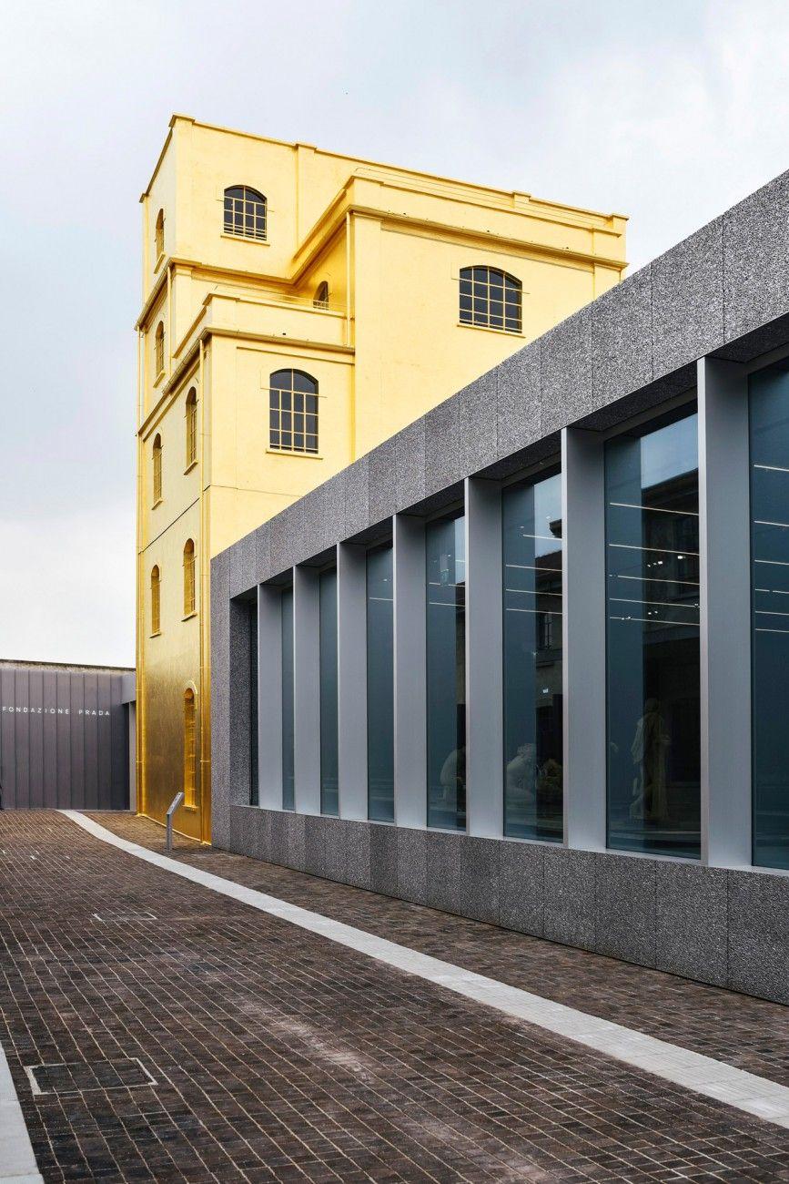 Fondazione prada architecture pinterest luoghi da for Casa moderna zurigo