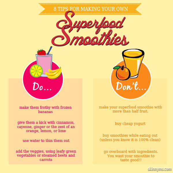 Do you love to make smoothies or are you interested in learning how? Check out these 8 Tips for Superfood Smoothies!