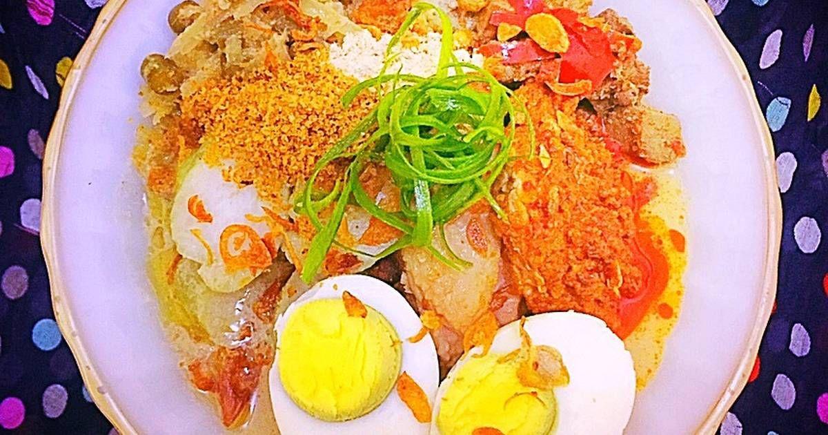 Resep Lontong Cap Go Meh Opor Ayam Peranakan Oleh Ratna Resep Resep Makanan Resep Resep Daging