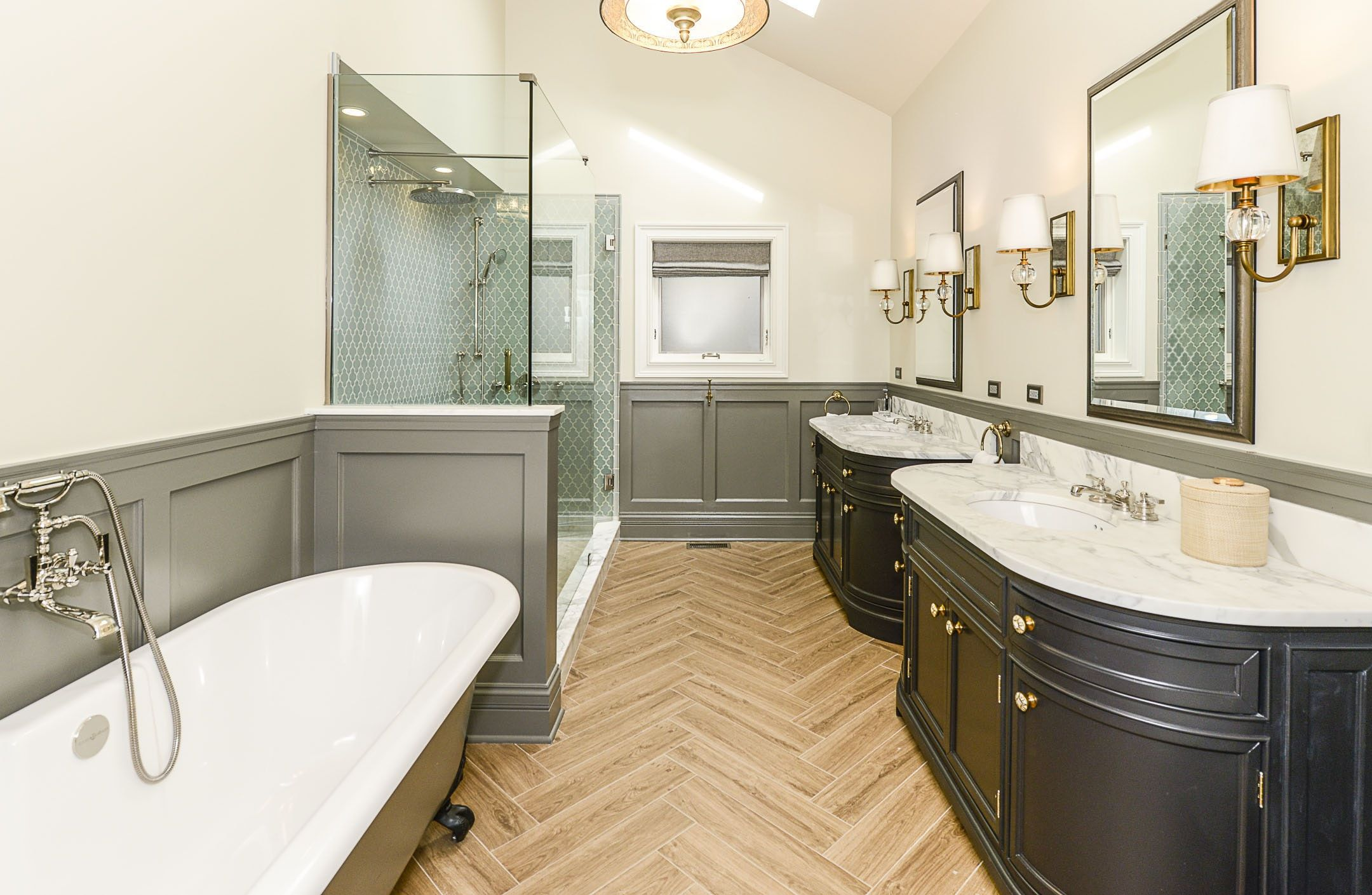 Bathroom Designer Chicago Beauteous Hermitage Chicago Residence  Bucktown   Bath's That Create A Design Decoration