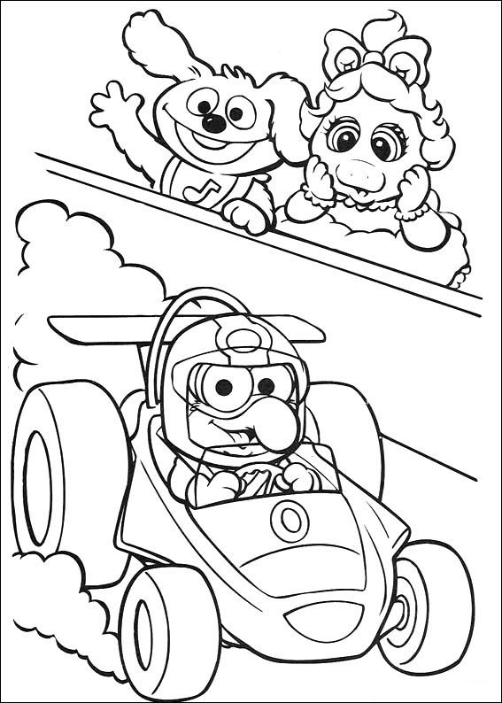 muppets 19 ausmalbilder für kinder malvorlagen zum