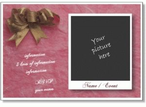 Printable Birthday Party Invitation Templates To Add Your Photo For Editable Cards Templates22981