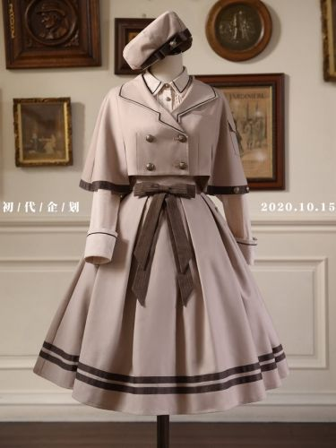 The Future Princess Lolita Blouse, Cape, Skirt, Be