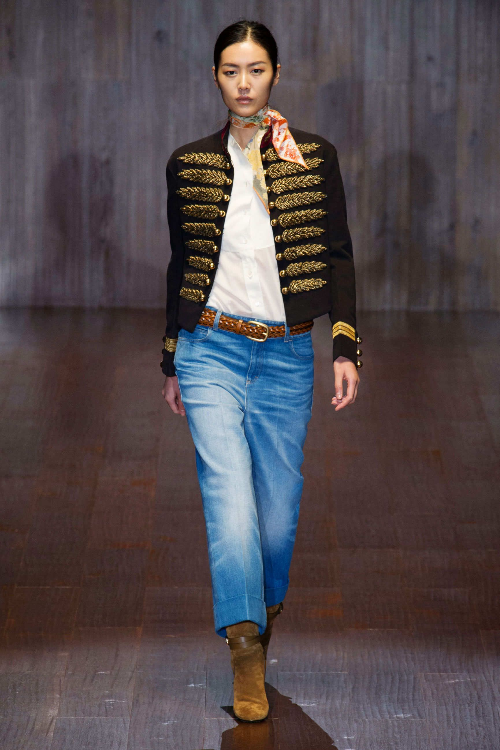 GUCCI SPRING 2015 RTW - love the jacket. The rest I can leave.