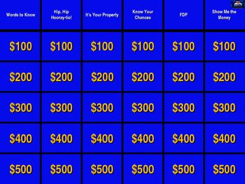 jeopardy template with sound