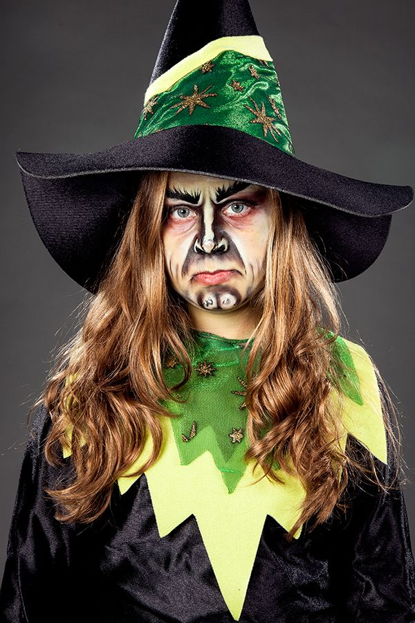 Eine Echte Hexe Mit Dem Bosen Blick Witch Zauberin Hexerei