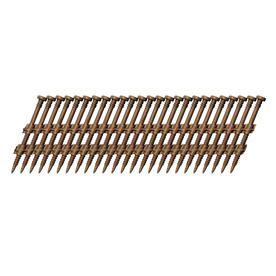 Scrail 1,000-Count #0 X 2.5-In Electro-Galvanized Standard Square-Driv
